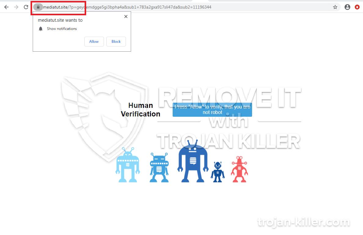 Mediatut.site virus
