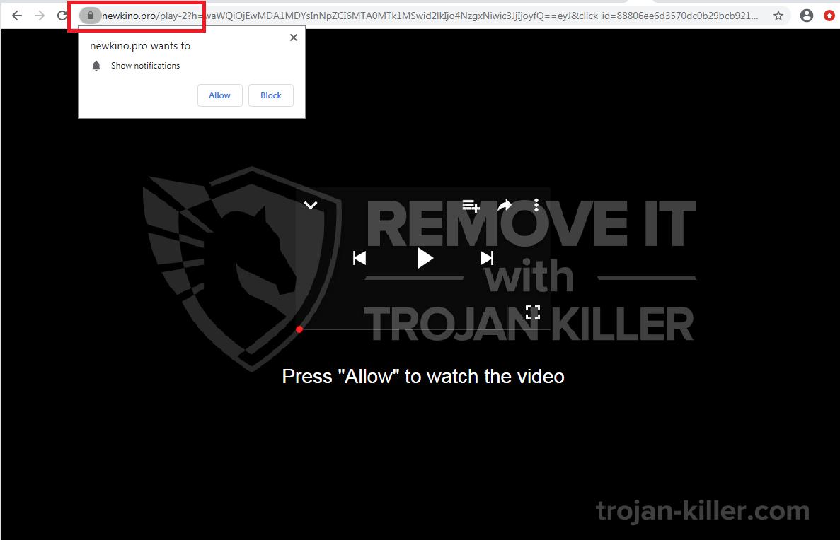 Newkino.pro virus