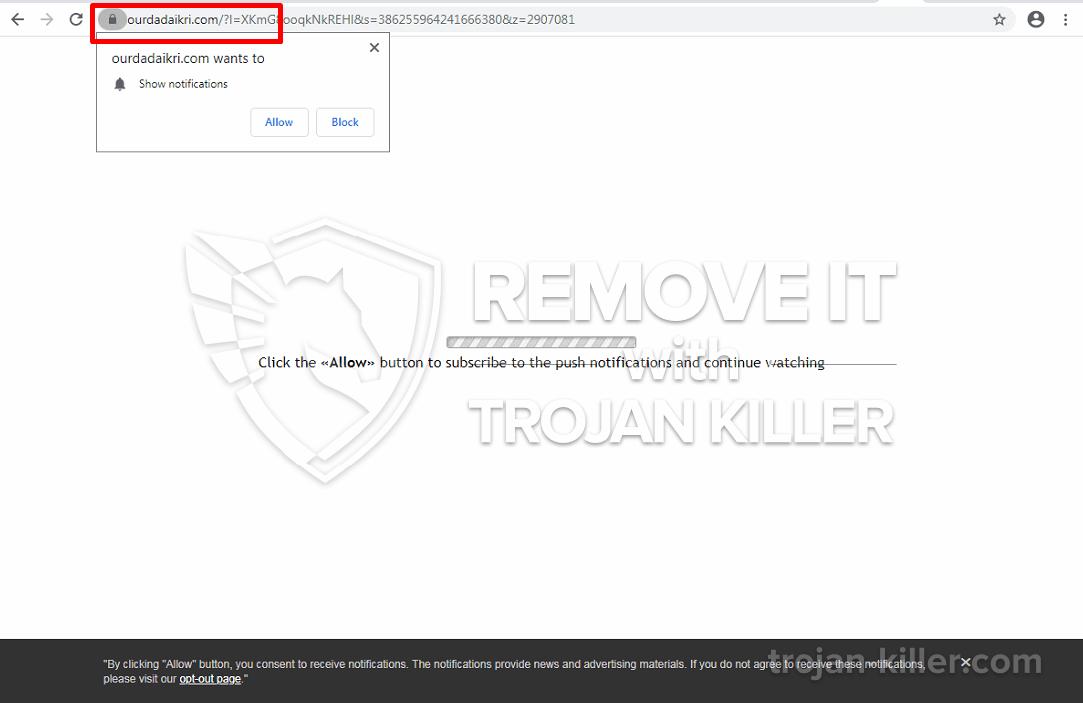 Virus Ourdadaikri.com