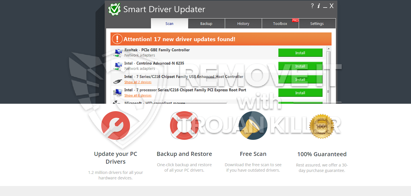 remover Smart Driver Updater