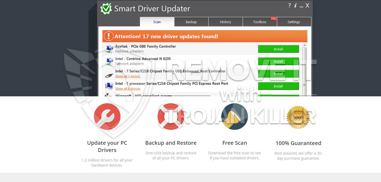 fjern Smart Driver Updater