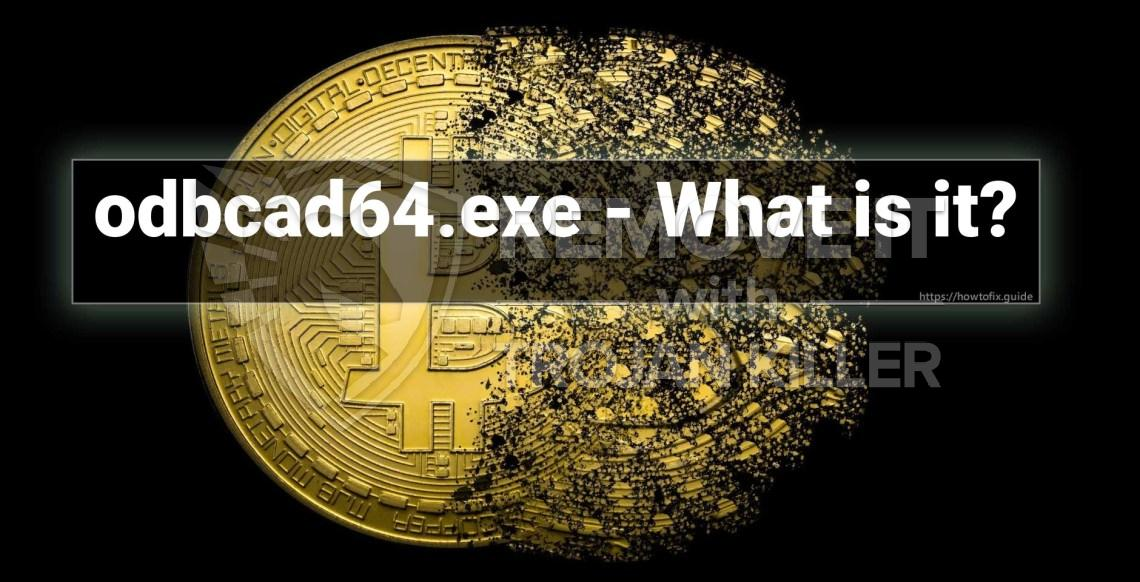 What is Odbcad64.exe?