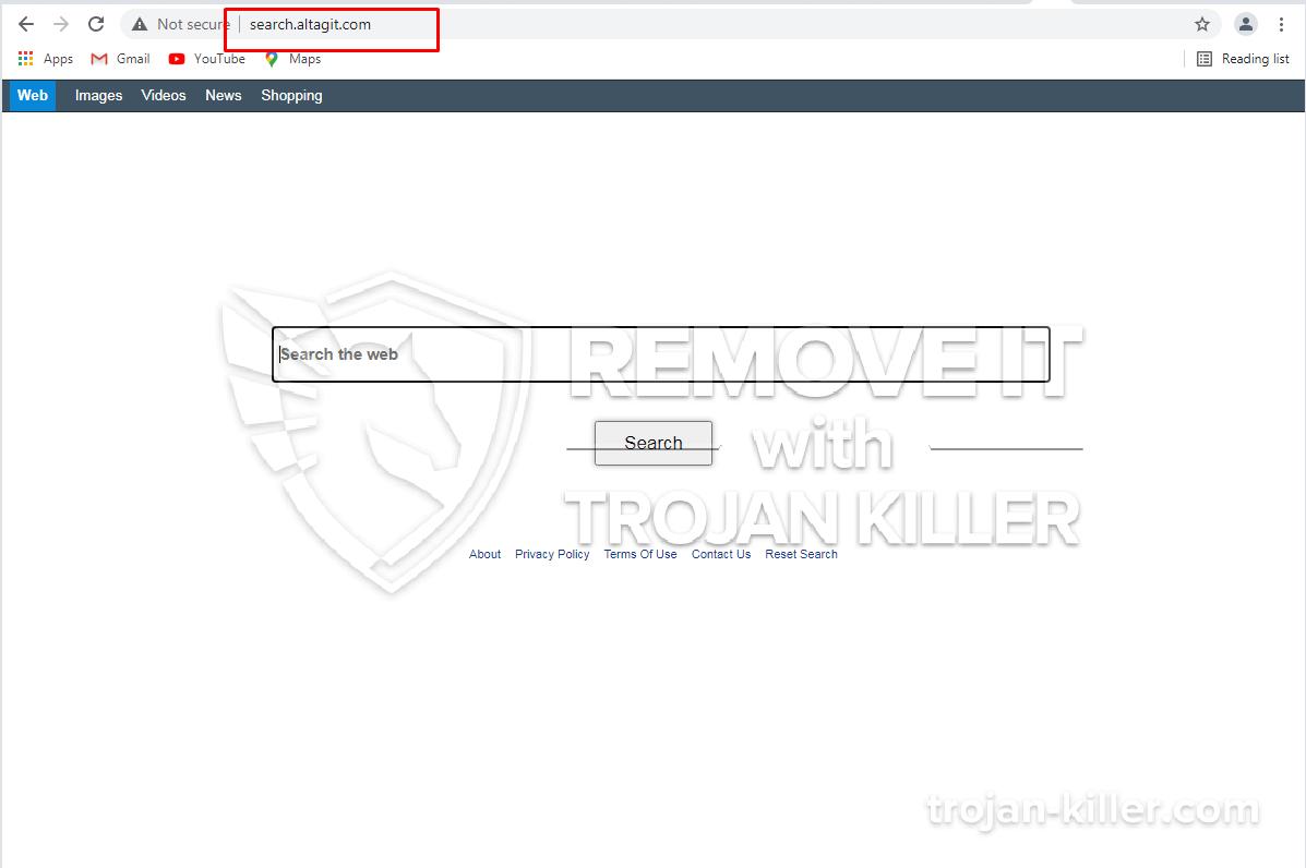 Altagit.com virus