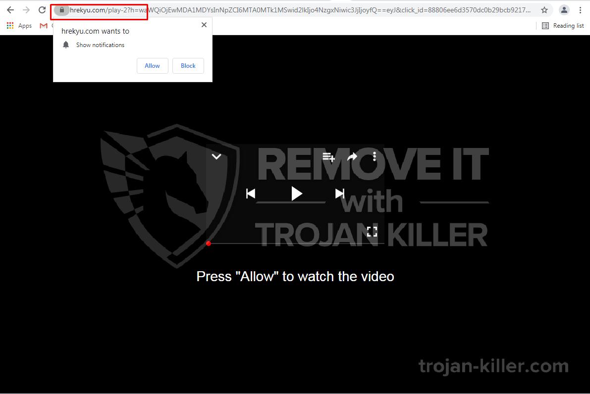 Hrekyu.com virus