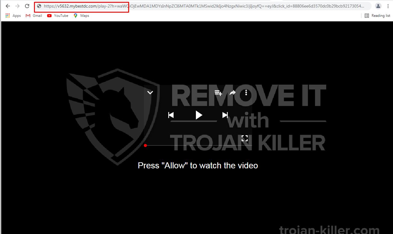 Mybestdc.com virus