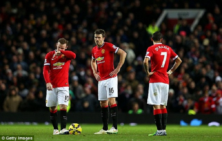 ManUnited Crashes Out Of UCL, Van Gaal Blames Ref And Poor Defending
