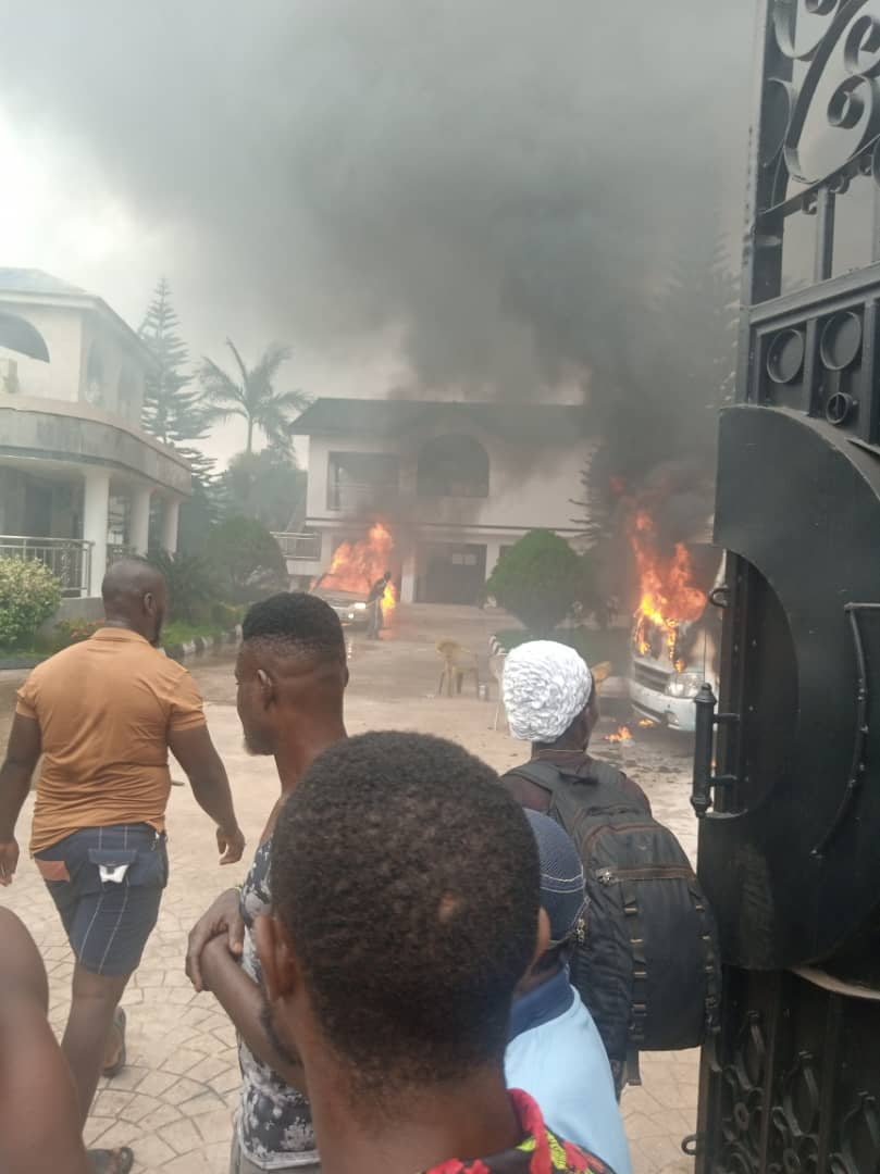 Nigeria Police Force Denies IPOB/ESN Burnt Or Entered Governor's Country Home