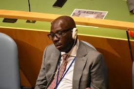 Edo Failed Governor Obaseki's Flag Vehicle Sinks On A Bad At The State Capital's Outskirts