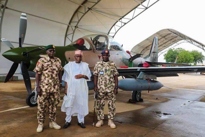 Nigeria Receives First Batch Of A-29 Super Tucano Aircraft