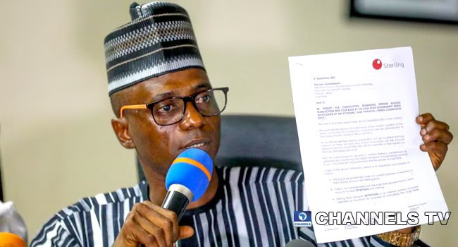 Kogi Govt Threatens To Sue EFCC For Salary Bailout Funds In Fixed Deposit
