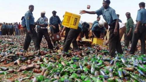 Islamic Police, Hisbah Seizes Two Vehicles With 5,760 Cartons Of Beer In Kano