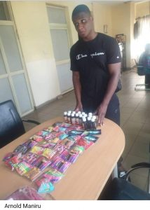 NDLEA arrests NYSC Member For Importing Drugged Candies From UK