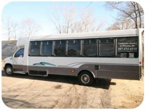 20 Passenger E450 Limo Bus