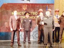 Trollisanomat #14 – Azov-rykmentin kakkosmies, Patriot Ukrainen aktiivijäsen Vadim Troyan nimitettiin Kiovan poliisipäälliköksi. Kuva sisäministeri Avakovin avustajan, Anton Geraschenkon Facebook-päivityksestä.