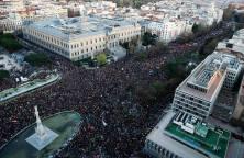 Madrid 2014 - Sadat tuhannet osoittavat mieltään