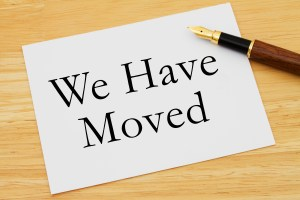 We have Moved
