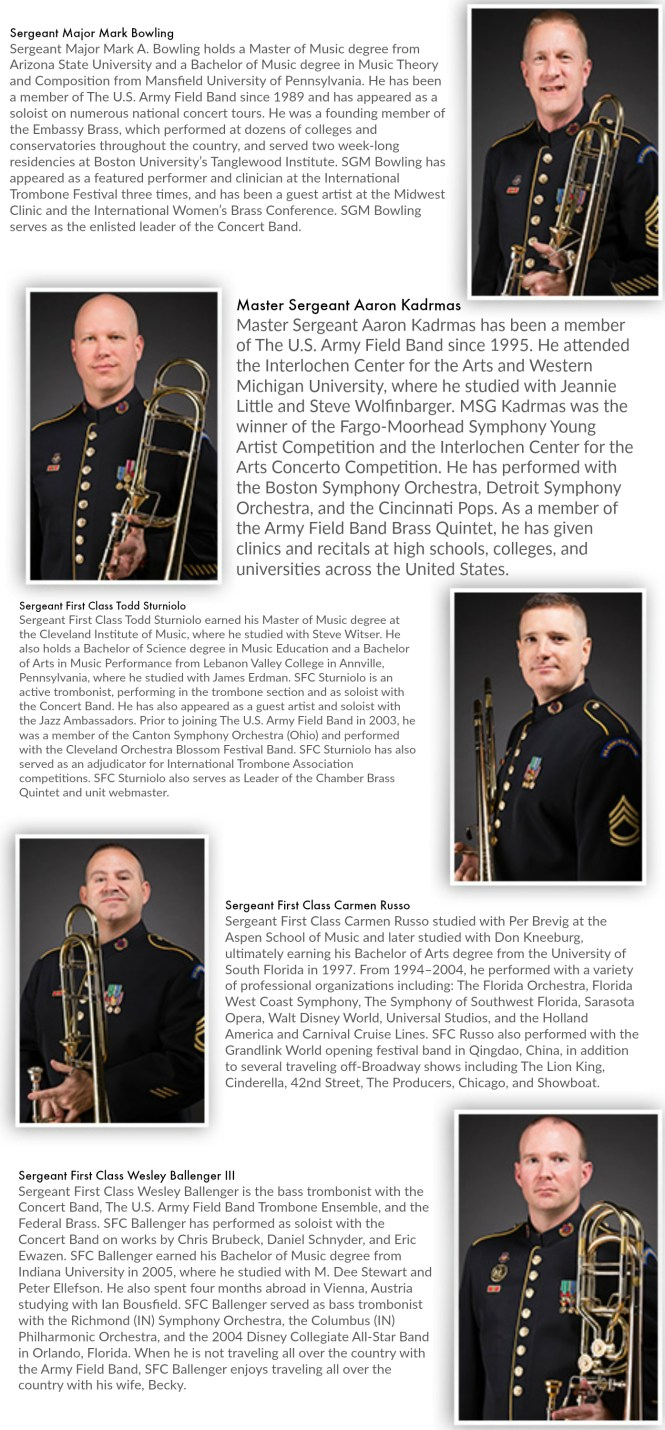 Trombones of the Field Band