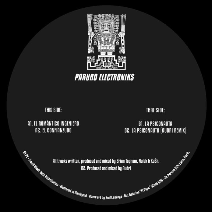 Paruro Electroniks vinyl