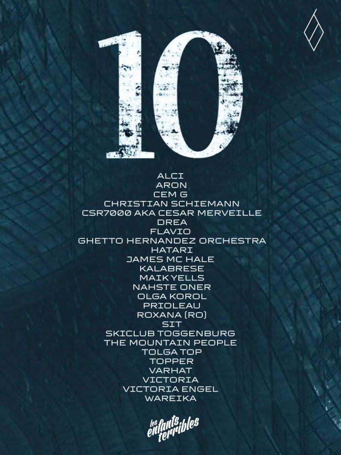 L.E.T Zurich compilation artists