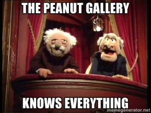 Muppetspeanutgalleryknowseverything