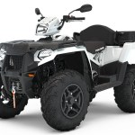 Polaris Sportsman 570 hvit