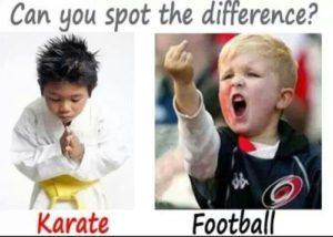 footballKarate