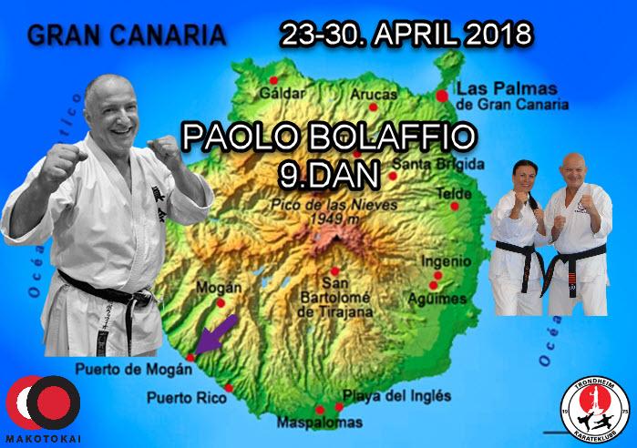 Gran Canaria 23-30.April  2018