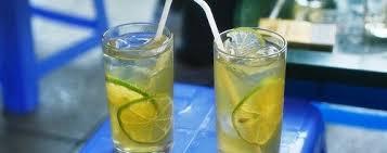 Trà chanh đang là thức uống phổ thông của giới trẻ