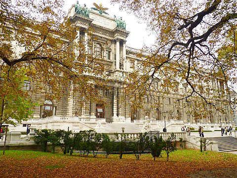 sắc thu lãng mạn của thành Vienna
