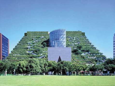 Tòa nhà ACROS, Fukuoka, Japan