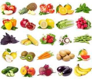 Bảng các loại thực phẩm giàu chất chống ôxy hóa có khả năng ngừa ung thư .