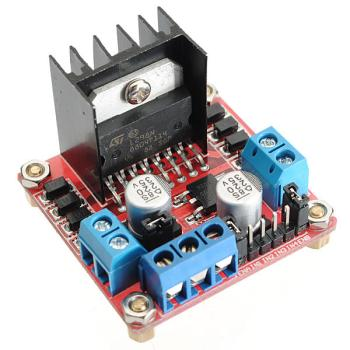 L298N Dual H Bridge Stepper Motor Driver Board For Arduino
