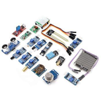 16 In 1 Sensor Module Kit Laser Ultrasonic Obstacle Avoidance For Raspberry Pi 2 Pi2 Pi3 Carton Box Package