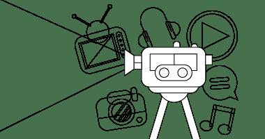 Tegning av kamera
