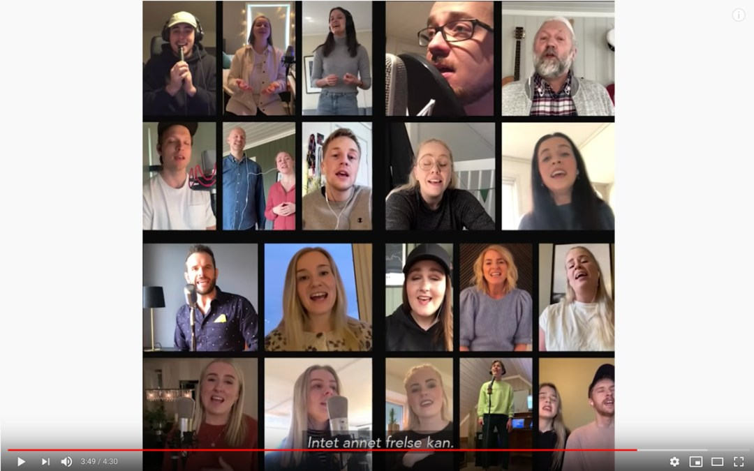 Ukas ros går alle gode, musikalske initiativ i sosiale medier