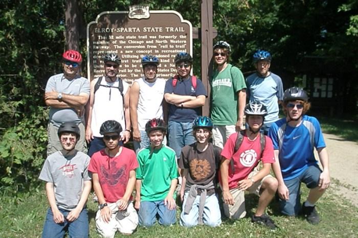 Elroy-Sparta Bike Trip 2009
