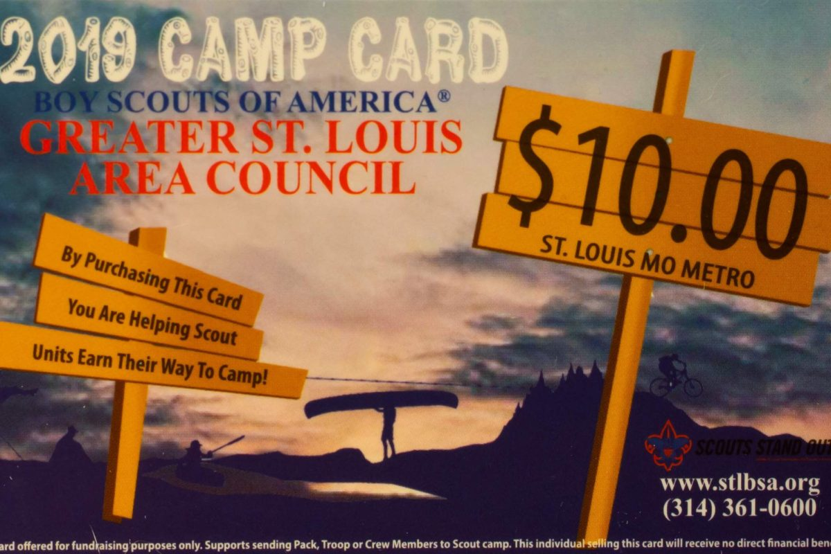 Camp Cards Support Our Scouts - Troop 1086
