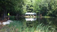The Handicraft Tents and Conservation Pond