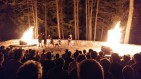 A Skit at the Closing Campfire
