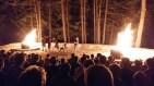A Skit at the Closing Campfire