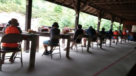 A Troop Shoot at the Rifle Range