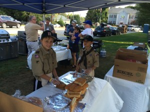 PolyArts 2015 Sausage Sale