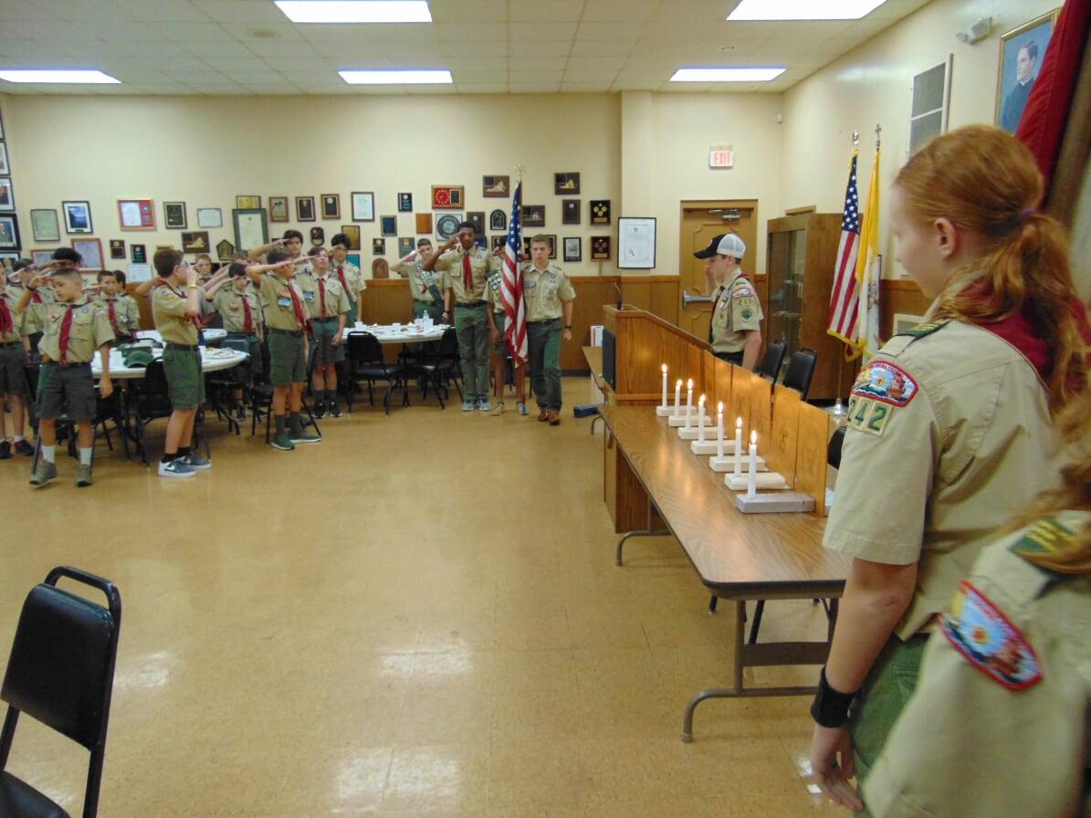 Summer Court Of Honor Troop 242