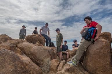 Troop 384 on Mastodon Peak