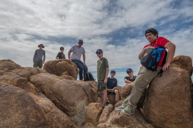 Troop 384 on Mastodon Peak