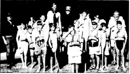 Troop 5Scouts prepare for a 10- day canoe trip by camping and canoeing on Deer Lake at Camp Tiorati - Courtesy Bronxville Review Press