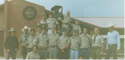 Troop 5 Scouts at Philmont Cavalcade 1990's