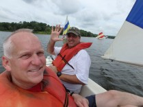 Two Salty Dawgs - Mr Birtley and Hufford Sailing