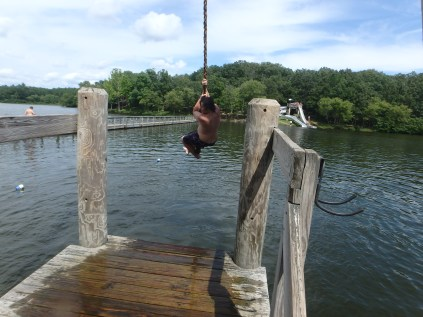 Huck's Cove Rope Swing - Ian