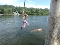 Huck's Cove Rope Swing - Andrew